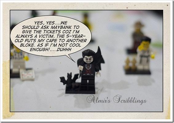 dracula lego figurine