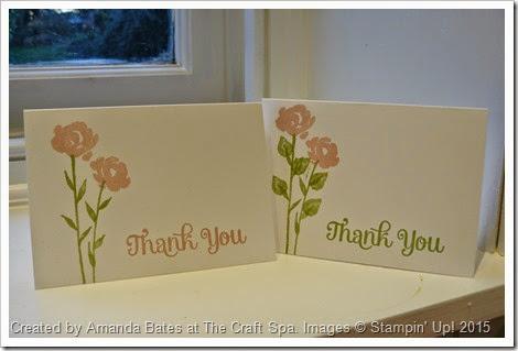 Painted Petals Thank You Notecards, Amanda Bates, The Craft Spa, 2015_01 (1)