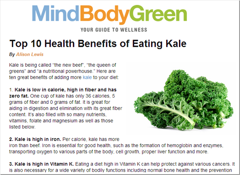 mind body green top 10 benefits of eating kale