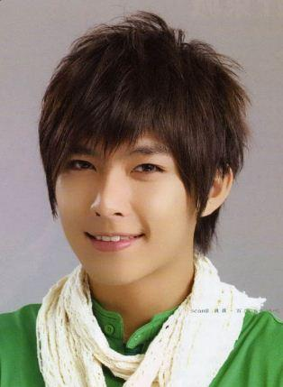 Handsome asian straight haircuts