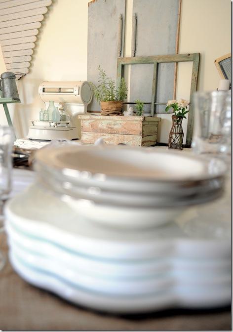 buffet through plates