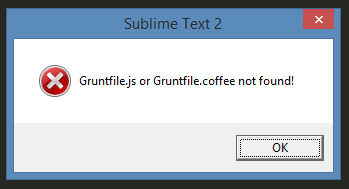 sublime-grunt-cantfindgruntfile