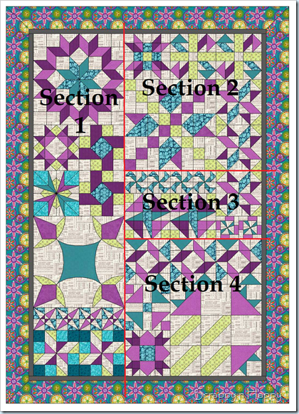 Layout sections