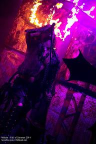 Watain au Fall of Summer 2014