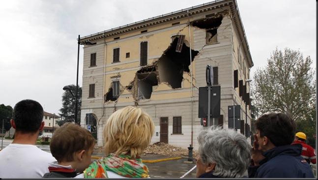 Bologna quake