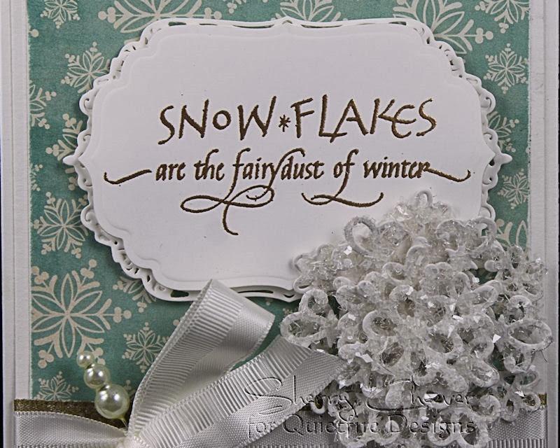SnowFlakeCard CloseUP