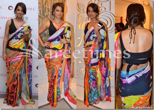 Mugdha_Godse_Satya_Paul_Saree