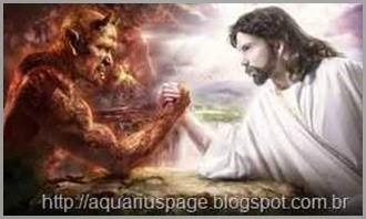 Jesus cordeiro e a besta