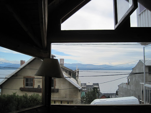 The gorgeous view from our hostel's common room.