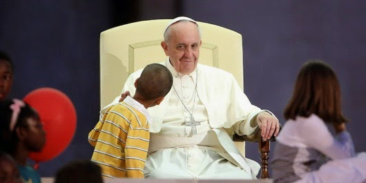 Pope francis boy