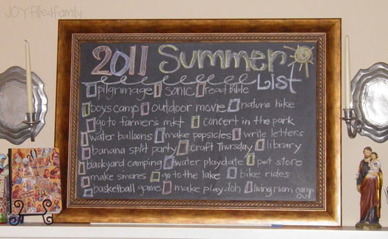 summer list JOY