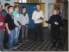Homburg Saarpfal Gymnasium Ausstellungseröffnung 005