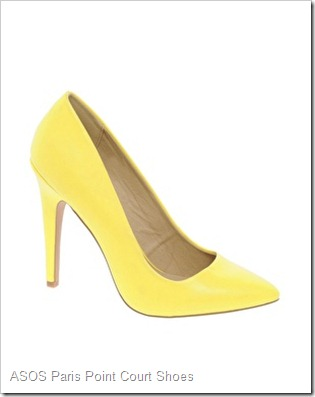 ASOS PARIS Point Court Shoes