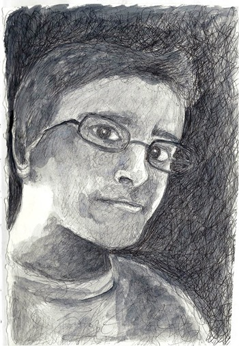 katie hone portrait
