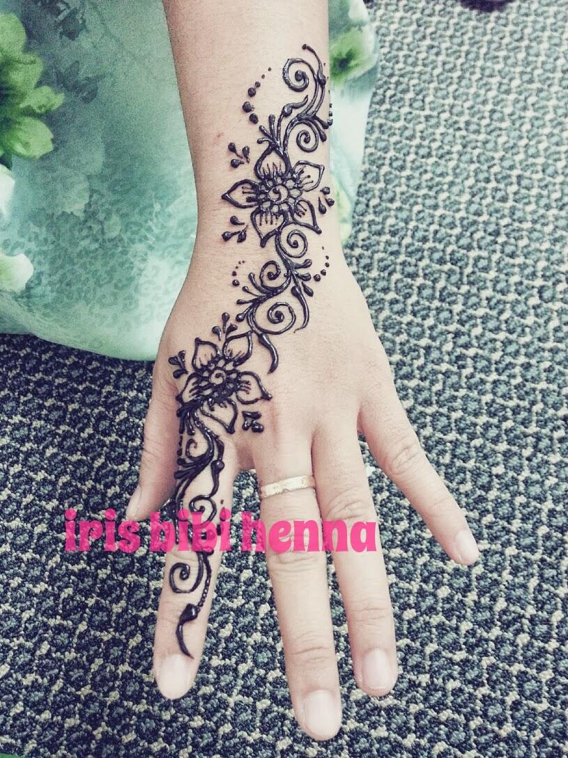 Gambar Henna Yang Menarik