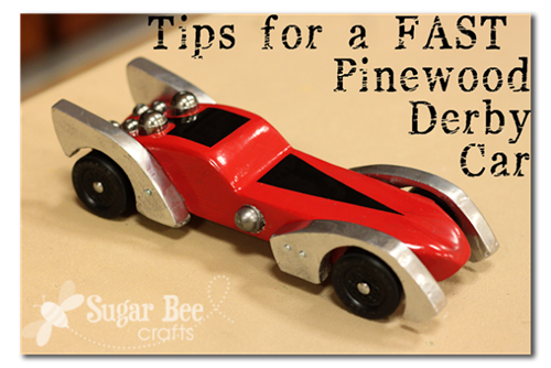 fast pinewood derby car tips