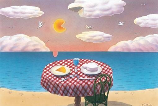 Гурбуз Доган Оксиоглу - Завтрак у моря