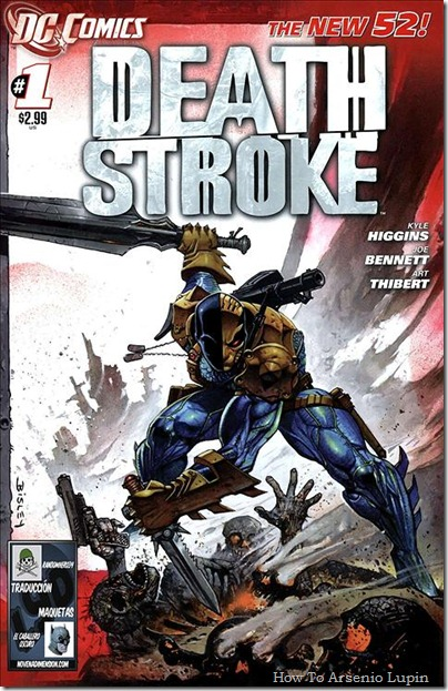 P00001 - Deathstroke #1 - Back to
