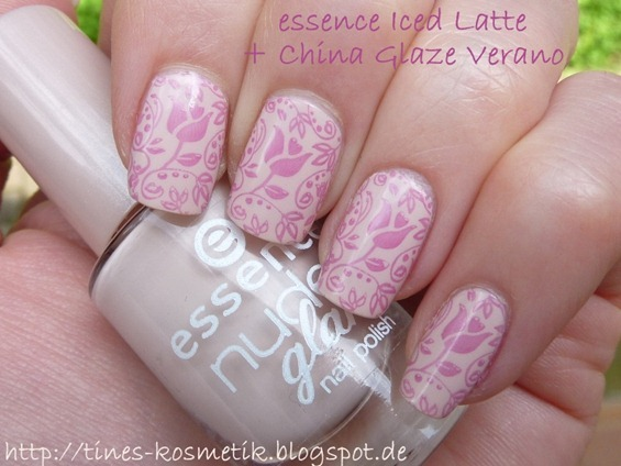 essence Iced Latte Stamping 2