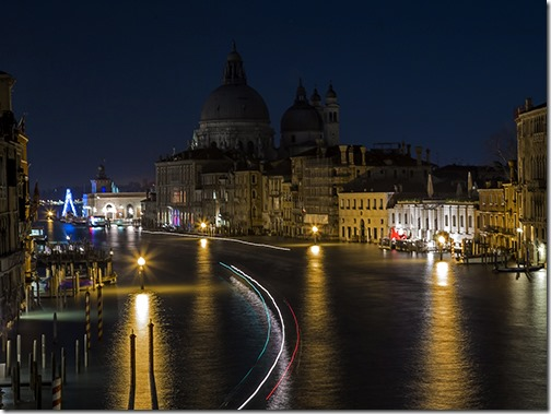 GRAND CANAL VIEW by Marcello Tomasini 2nd place div 2