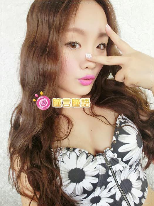 韓國GEO隱形眼鏡-GEO Eyes Cream 霜淇淋咖028