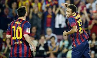 Barcelona 4:1 Real Sociedad Spain liga bbva 24-09-2013