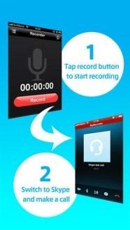 Como gravar chamadas VoiP no iPhone com Skyrecorder