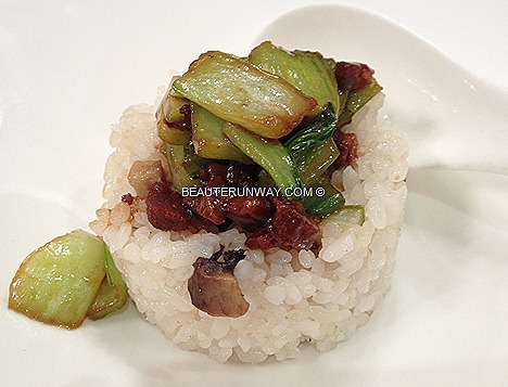 Old Hong Kong roast pork Vegetables rice, Shanghai cantonese cuisine legend chinese restaurants raffles city shopping centre