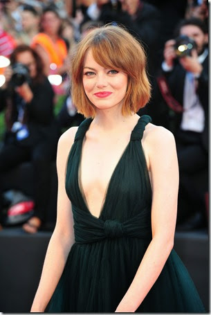 emma stone at the Venice Film Festival for BIRDMAN (1)