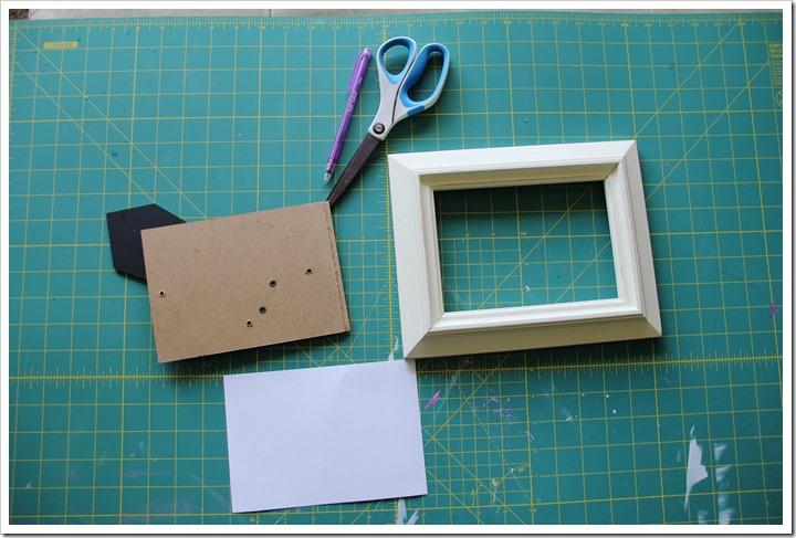 Monogram Letter Frames 12
