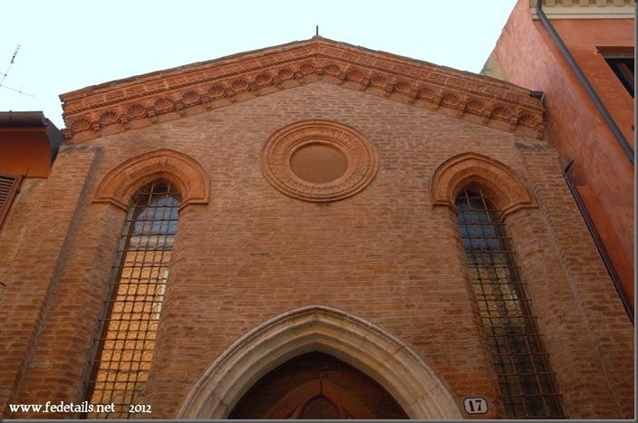 Ex chiesa dei santi Simone e Giuda ( frontale 2 ), Ferrara, EmiliaRomagna, Italia - Ex Church of St. Simon and Jude ( front 2 ) Ferrara, EmiliaRomagna, Italy - Property and Copyright of www.fedetails.net