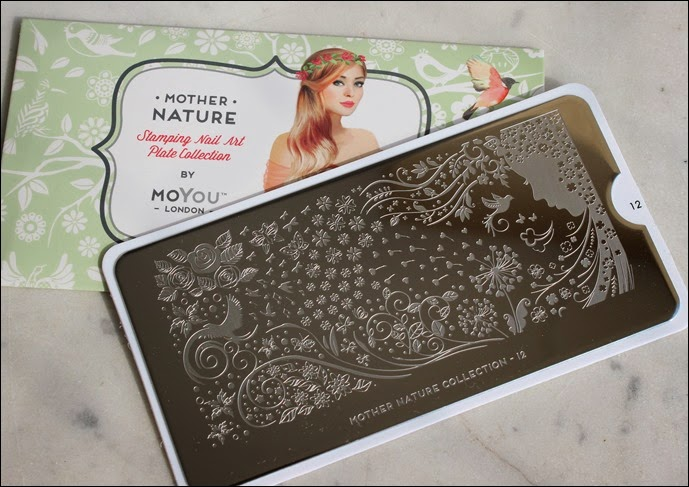 Stamping Palette Plate Moyou Mother Nature Collection 12