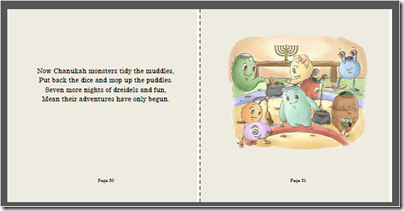 Chanukah Monsters, by Jennifer Tzivia MacLeod
