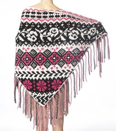 #611 Babushka shawl