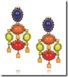 Oscar de la Renta Clip Earrings