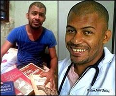 1 - Com livros achados no lixo, morador do DF aprende a ler e se torna médico