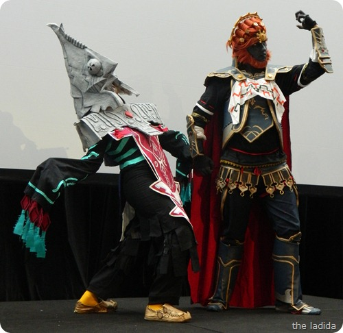 EB Expo Just 'Cos Cosplay Competition - Gannondorf and Zant from Legend of Zelda Twilight Princess