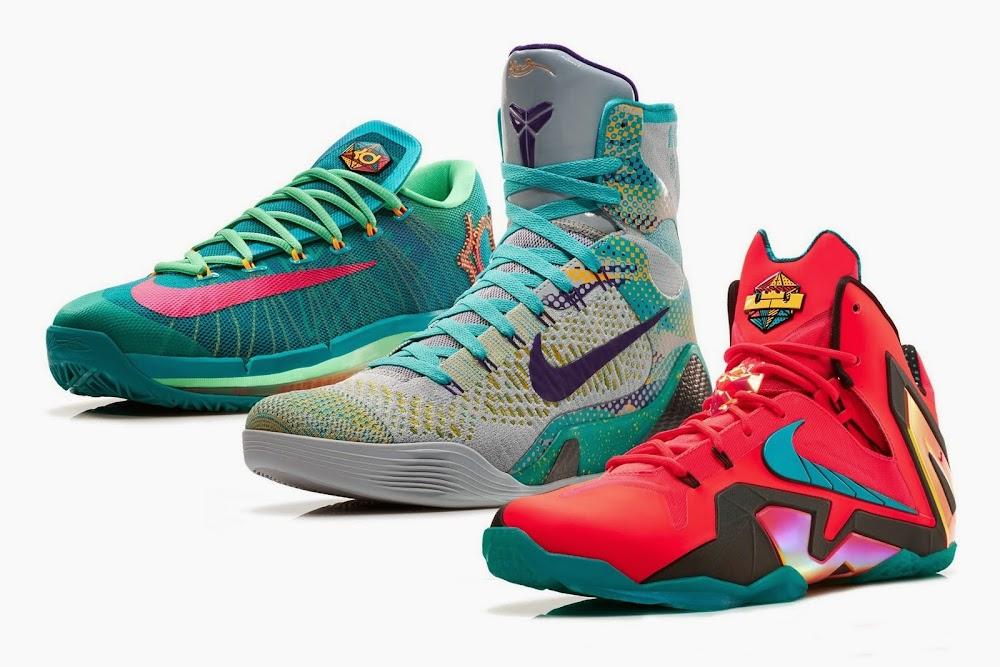 ... Nike Basketball Elite Series Hero Collection Including LeBron 11