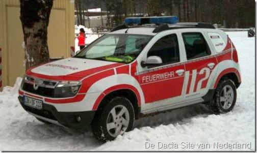 Dacia Duster als brandweer 16