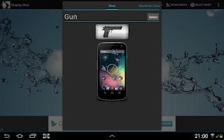 Screenshot of Display Shot