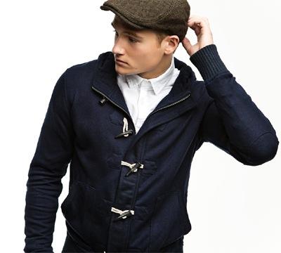 Sam Lawson @ Select for Zara Young F/W 2011 Lookbook.  Ph: TBD