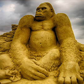 sand sculpture by Yordanka Trifonova - Buildings & Architecture Statues & Monuments ( burgas,  )