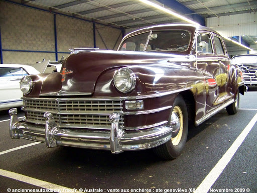 Chrysler Windsor 1946 partie a