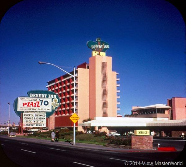 View-Master Las Vegas Nevada A159 Scene 3-2 Desert Inn