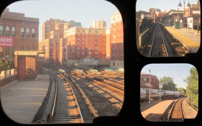Train rear windows