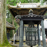 ancient bell created by the King of Holland at the toshogu shrine in Nikko, Japan in Nikko, Totigi (Tochigi) , Japan