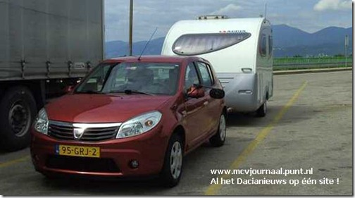 Dacia Sandero 1.6 Peter en Margot