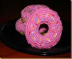 amigurumi donut simpson