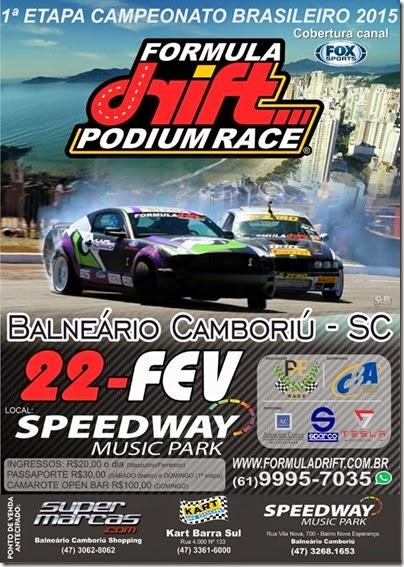 Cartaz Formula Drift BC