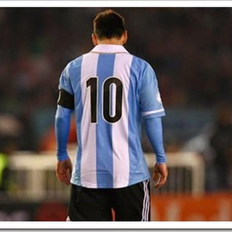 Argentina jugo sin Messi…